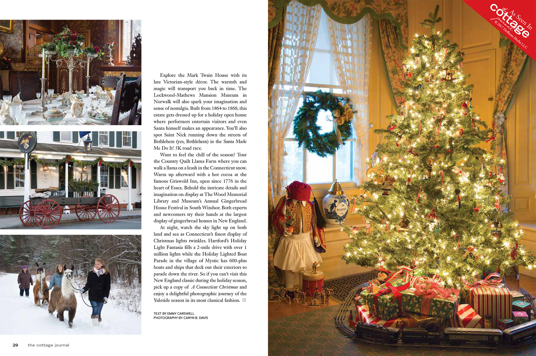 The-Cottage-Journal-A-Connecticut-Christmas-Caryn-B-Davis